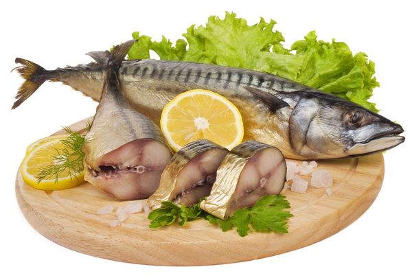 копченая рыба скумбрия
