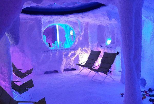 соляная пещера для галотерапии