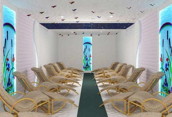 комната для галотерапии