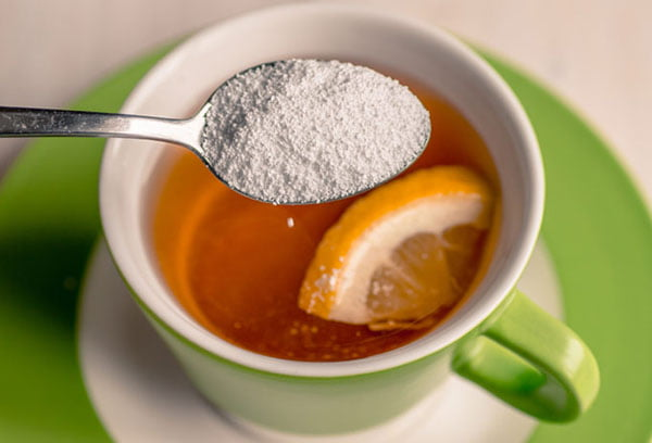 Чай с лимоном и сорбитом