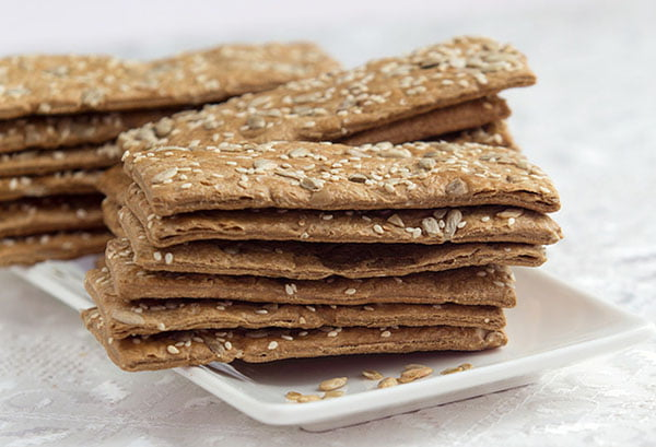 Хлебцы с семенами