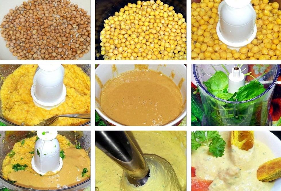 приготовление хумуса