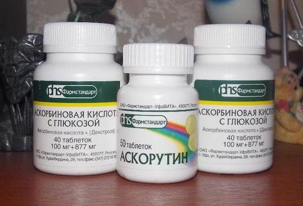 таблетки аскорбиновой кислоты