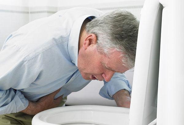 Рвота при передозировке лекарства