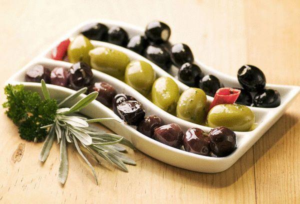 разные маслины