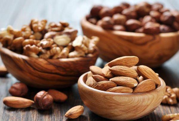 орехи разных сортов