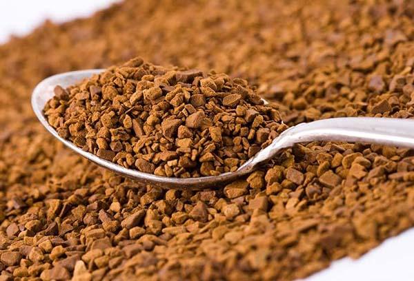 Гранулы растворимого кофе