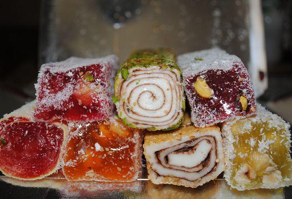 восточная сладость рахат-лукум