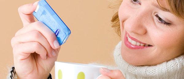 Использование подсластителя при диабете