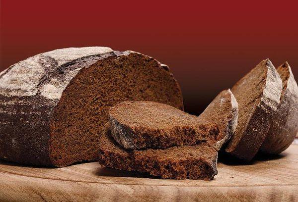 черный хлеб без дрожжей