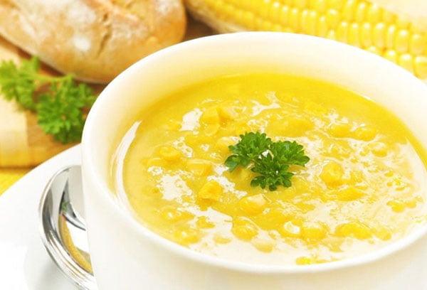 Каша из кукурузы с маслом