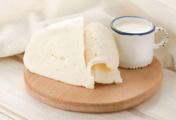 козье молоко и сыр