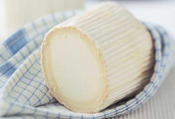 круглый сыр из козьего молока