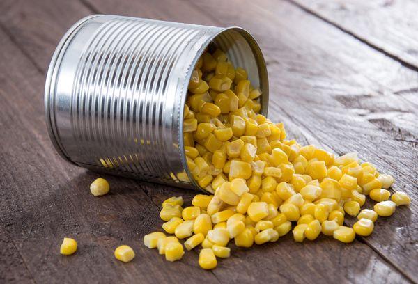 кукуруза в жестяной банке