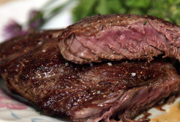 жареное мясо бобра