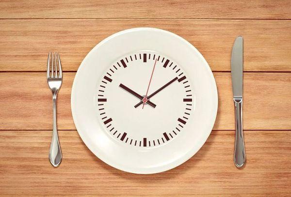 тарелка часы