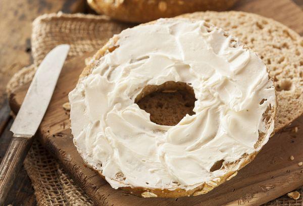 хлеб с плавленным сыром