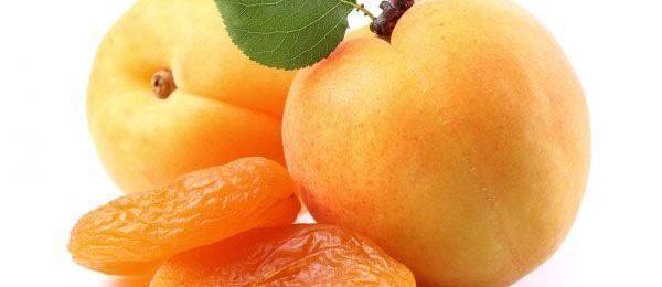 свежие и сушеные абрикосы
