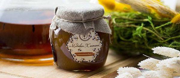 Баночка с каштановым медом