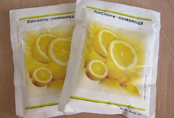 кислота лимонная в пачках