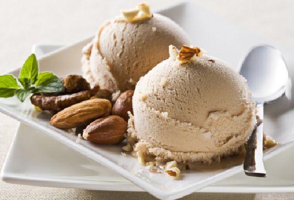 ореховое мороженое