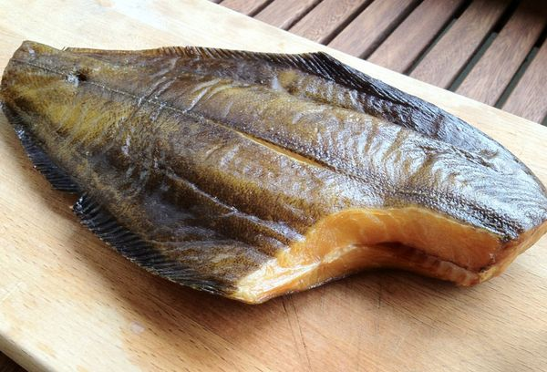 копченая рыба палтус
