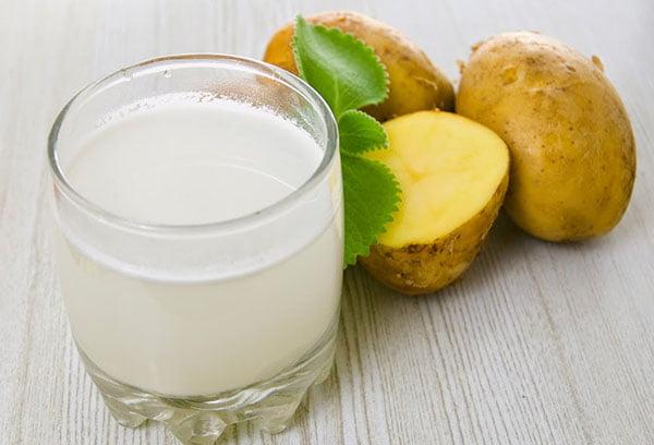 Свежий картофельный сок