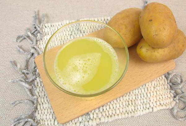 Сок из молодого картофеля