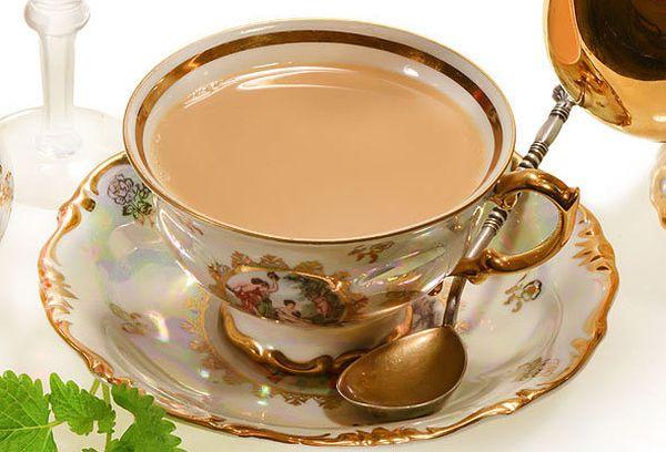 чай с молоком по калмыцк