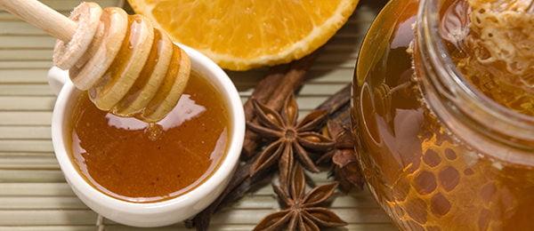 Мед, лимон и специи