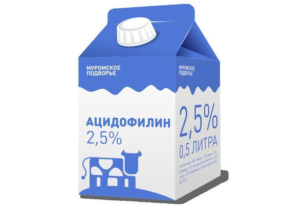 Кисломолочный напиток Ацидофилин