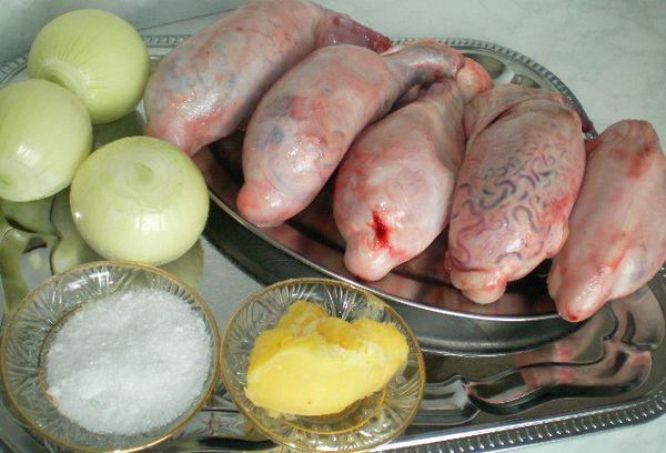Приготовление бычьих яиц