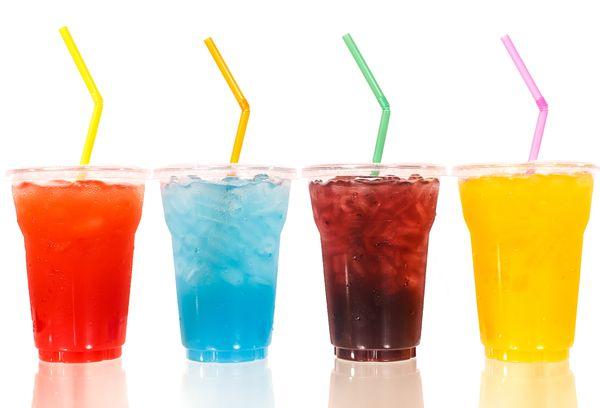 Напитки в стаканах
