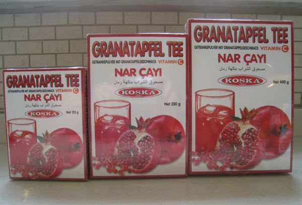 Турецкий чай из граната