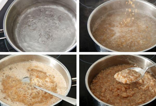 Приготовление гречневой каши