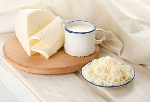 Домашний творог и сыр