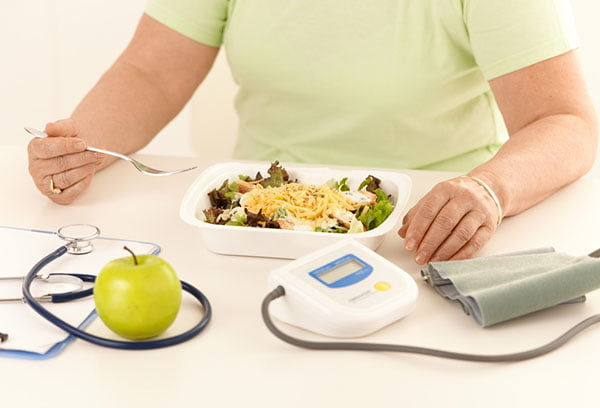 Обед диабетика