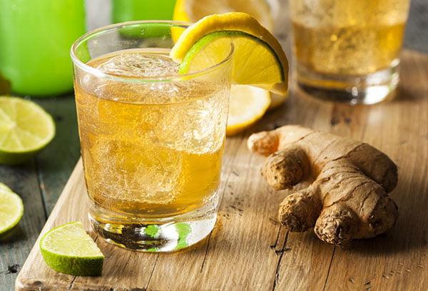 Напиток с имбирем для похудения