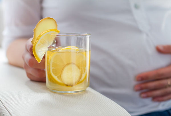 Вода с лимоном и имбирем при беременности