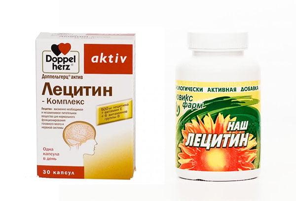 Лецитинсодержащие препарат
