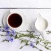 Напиток из цикория и сливки