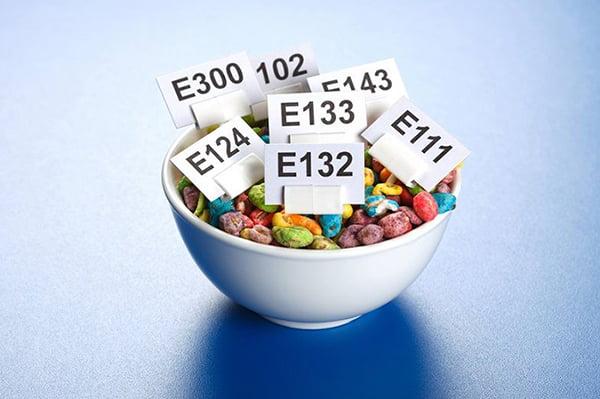 Пищевые красители Е