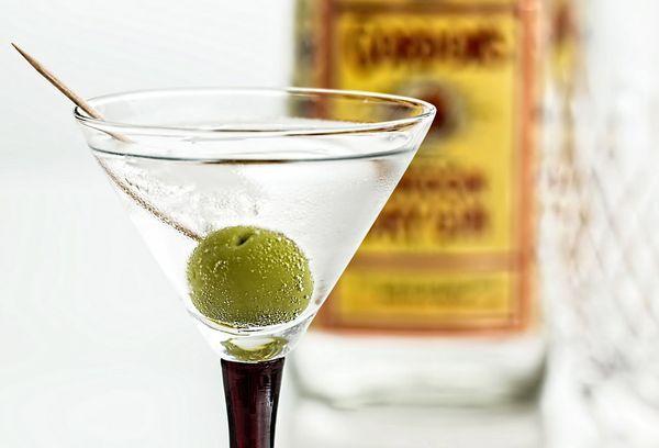 оливковый коктейль