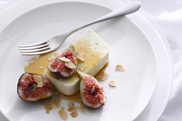 Десерт с инжиром