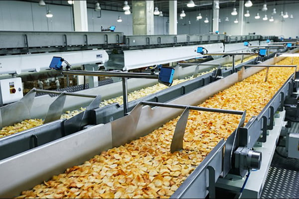 Производство чипсов