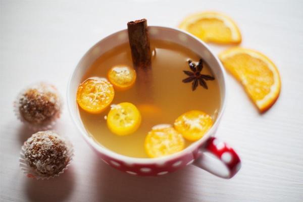 чай с кумкватом