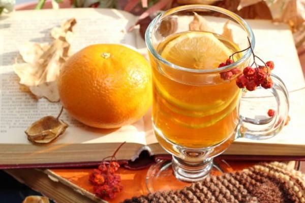 Чай из мандариновых корок