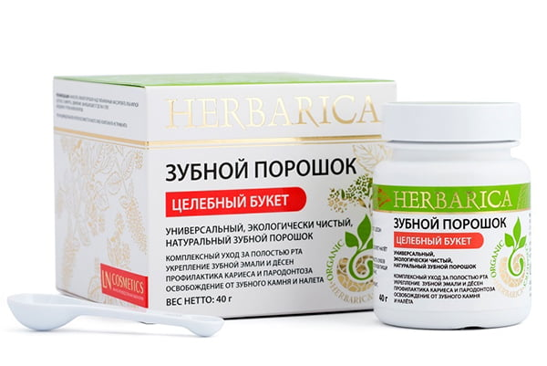 Зубной порошок Herbarica № 1
