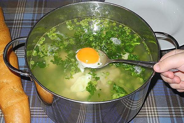 Зеленый витаминный суп