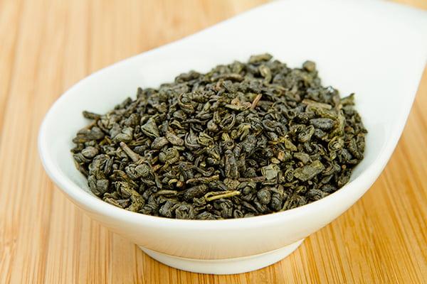 Чай ганпаудер, или чжу-ча